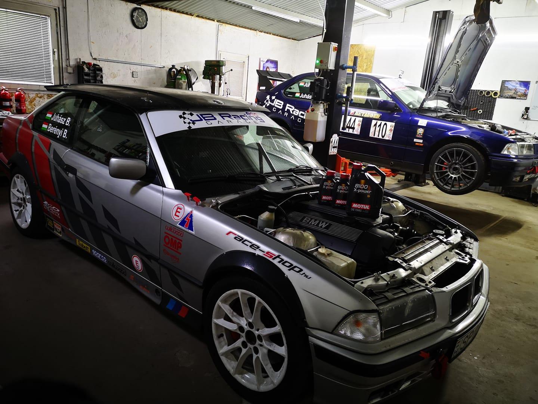 BMW műhelybe